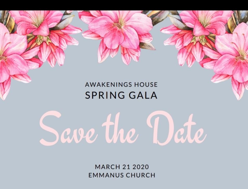 """Save the Date"" We are excited to celebrate with you at our Spring Gala! Stay tuned for more details"