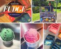 12 kinds of gourmet fudge & many flavors of Italian ice