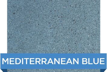 HYDMEDBLUE MEDITERRANEAN BLUE HYDRAZZO CL INDUSTRIES SWIMMING POOL SURFACE FINISH ARTISTIC POOLS