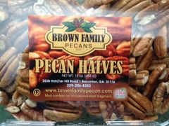 Shelled Pecan Halves – 1 lb container