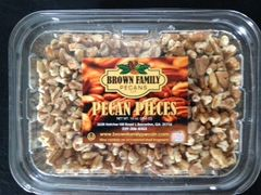 Chopped pecan pieces. 1lb container