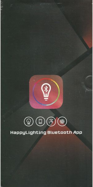 Happy Lighting App Instructions
