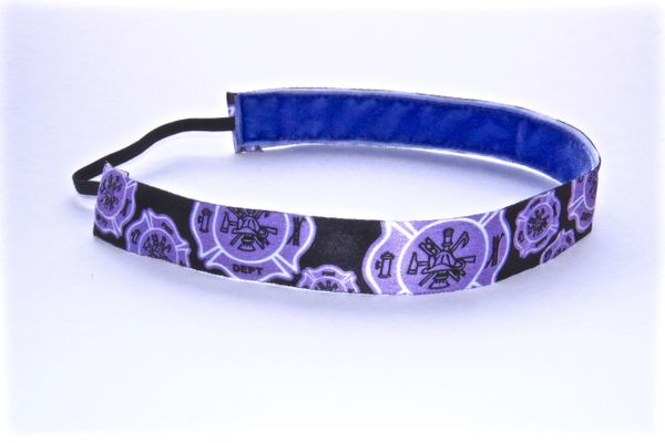Firefighter Headband - PURPLE