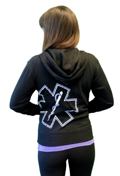 EMS Purple Star of Life Hoodie