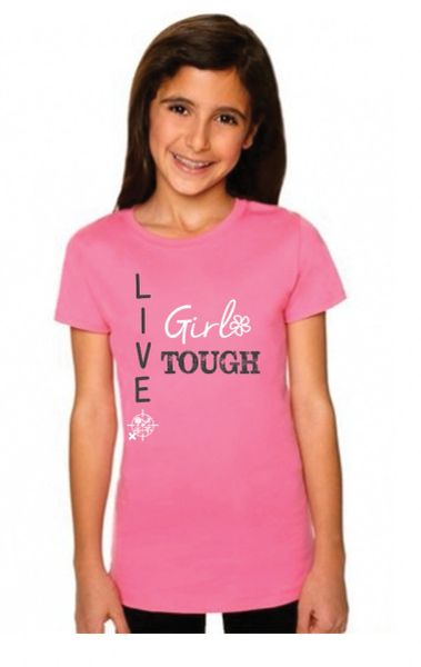 Girl Tough - Girls Tee