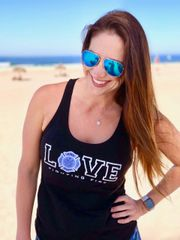 Love Fighting Fire Tank-top