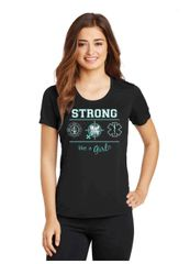 Strong like a Girl T-shirt