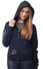 Full Zip Hoodie - Navy Blue