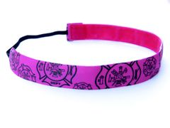 Firefighter Headband - PINK