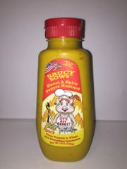 Saucy Sows Sweet Pepper Mustard - Spicy 12 oz