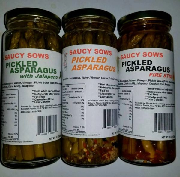 Pickled Asparagus with Jalapeno