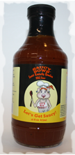 Saucy Sows Sweet Kentucky Bourbon BBQ Sauce 16 oz