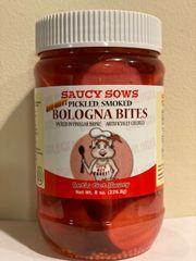 RED HOT Pickled Bologna Bites