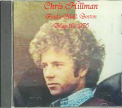 Chris Hillman - Paul's Mall, Boston 1976 (CD)