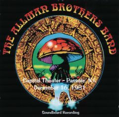 Allman Brothers Band - Passaic, NJ. 1981 (2 CD's, SBD)