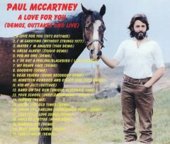 Paul McCartney (Beatles) - A Love For You (Demos & Outtakes) (CD)