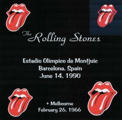 Rolling Stones - Barcelona 1990 & Melbourne 1966 (2 CD's, SBD)
