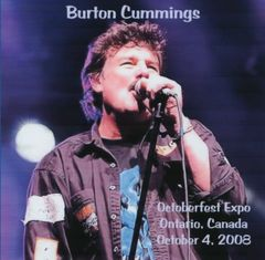 Burton Cummings (The Guess Who) - Ontario 2008 (CD)