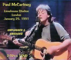 Paul McCartney - London 1991 (Unplugged & Unedited) (2 CD's & 1 DVD, SBD)