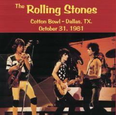 Rolling Stones - Dallas 1981 (2 CD's, SBD)