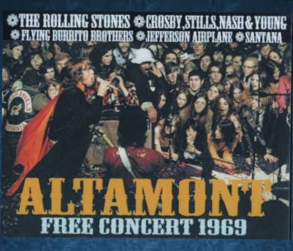 Rolling Stones & Guest Acts - Altamont 1969 (3 CD's, SBD)