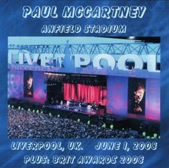 Paul McCartney - Liverpool, UK. 2008 (2 CD's, SBD) +BRIT Awards 2008
