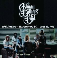 Allman Brothers Band - Washington, DC. 1973 (2 CD's, SBD)