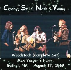 Crosby, Stills, Nash & Young - Woodstock 1969 (Complete Set) (CD, SBD)