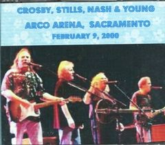 Crosby, Stills, Nash & Young - Sacramento, CA. 2000 (3 CD's)
