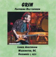 Grin (Nils Lofgren) - Washington 1972 (CD, SBD)