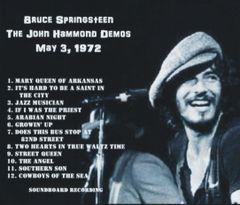 Bruce Springsteen - J.H. Demos 1972 (CD, SBD)