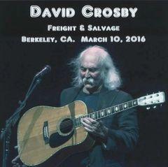 David Crosby - Berkeley 2016 (2 CD's, SBD)