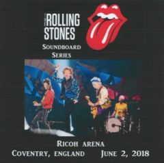 Rolling Stones - Coventry 2018 (2 CD's, SBD)