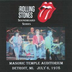 Rolling Stones - Detroit 1978 (2 CD's, SBD)