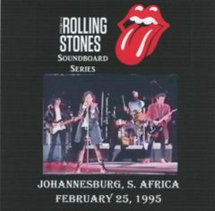 Rolling Stones - Johannesburg 1995 (2 CD's, SBD)