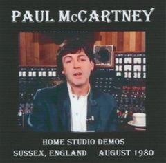Paul McCartney - Home Studio Demos 1980 (CD, Stereo SBD)