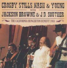 Crosby, Stills, Nash & Young & Guests - Los Angeles 1988 (CD, SBD)