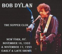 Bob Dylan - New York 1993 (2 Nights, Early & Late Shows) (4 CD's, SBD)