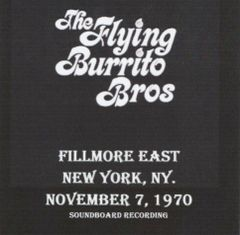Flying Burrito Brothers (Chris Hillman) - New York 1970