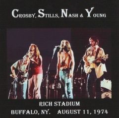 Crosby, Stills, Nash & Young - Buffalo 1974 (2 CD's)