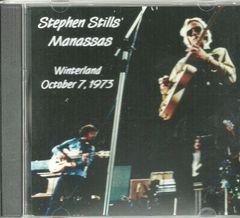 Stephen Stills' Manassas - Winterland 1973 (CD)