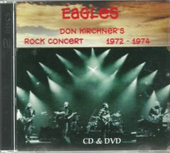 Eagles - Don Kirchner's Rock Concert 1972-1974 (CD & DVD Set)