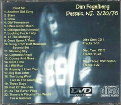 Dan Fogelberg & Fool's Gold - Passaic, NJ. 1976 (2 CD & 1 DVD Set)