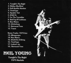 Neil Young - Tonight's The Night (1973 Acetate) (CD)