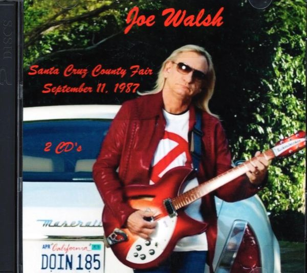 Joe Walsh - Santa Cruz 1987 (2 CD's)