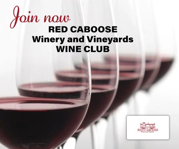 Red Caboose Winery Wine Club