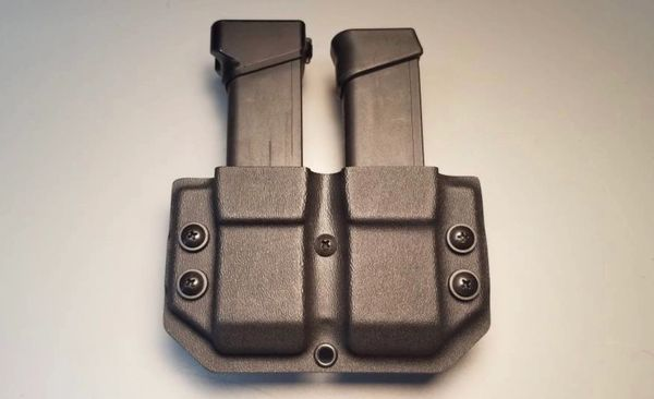 Double Magazine mag retention device