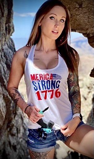 Women's Merica Strong Tank Top