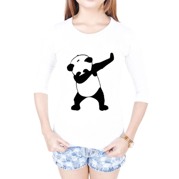 19dc6b588 Pre- book DAB PANDA SIngleT-shirt White FULL Sleeves for women ...