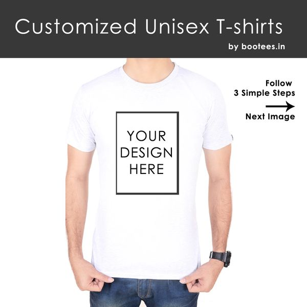 94cad643d7 Unisex Customized T-shirts For Men and Women | Online T-shirt ...
